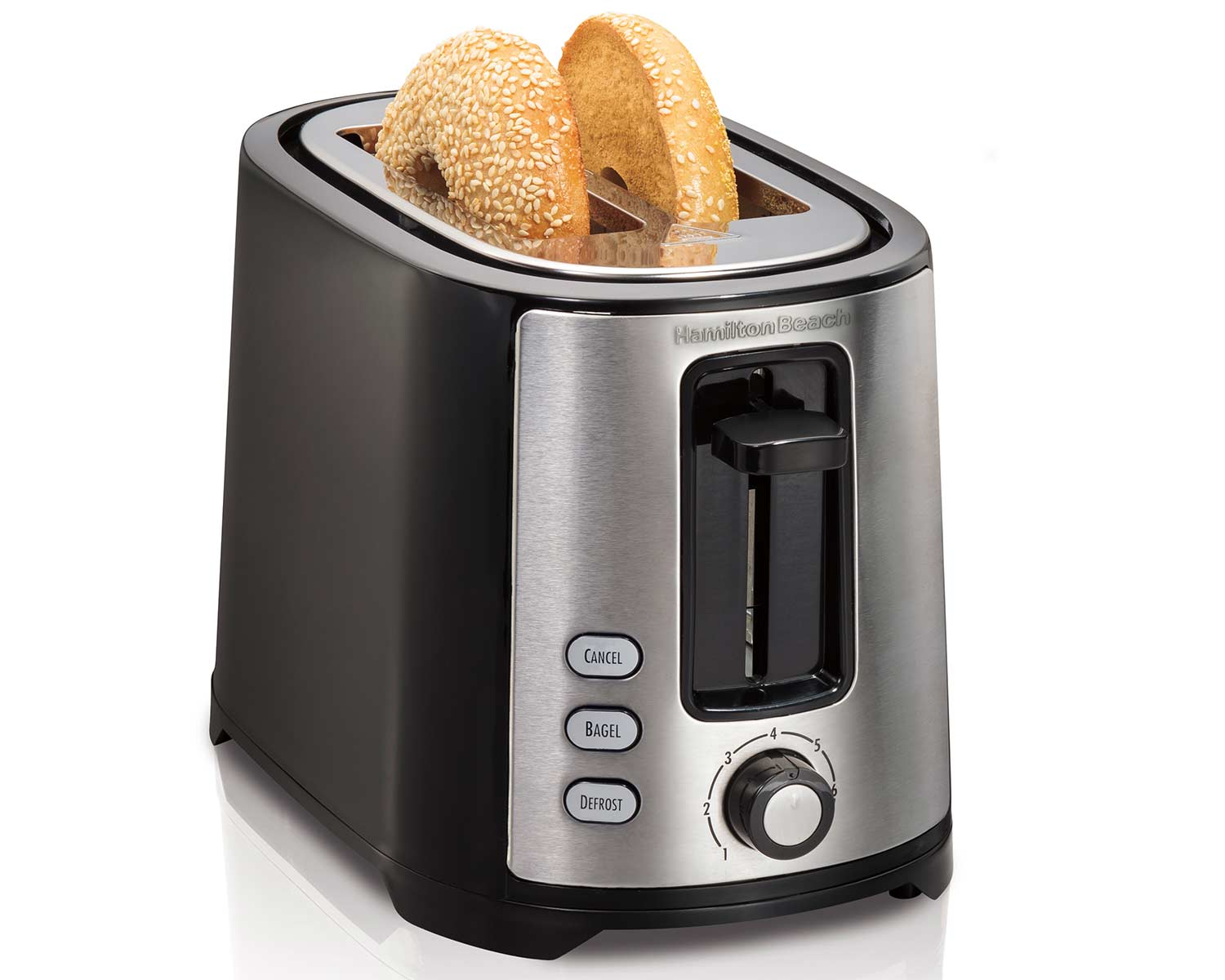 Extra-Wide Slot 2 Slice Toaster (22633C)
