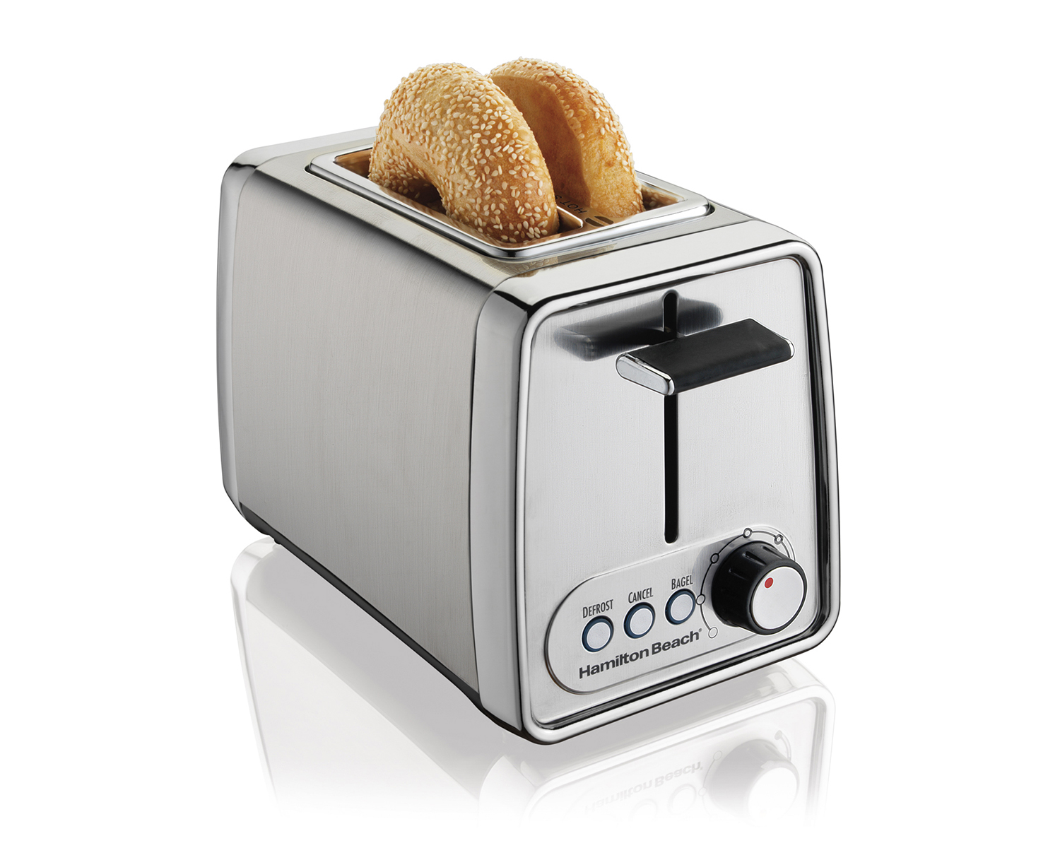Modern Chrome Toaster (22791C)