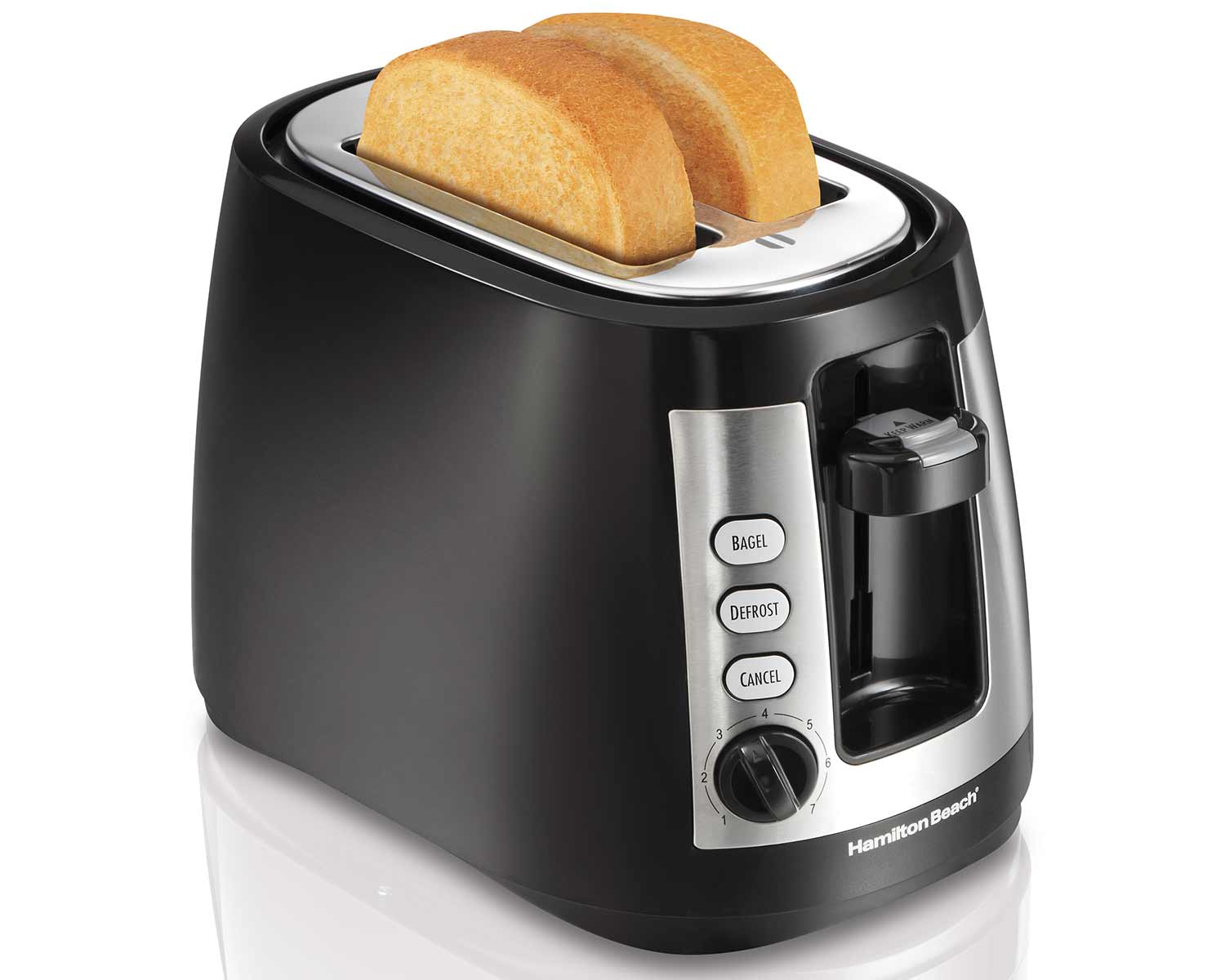 2 Slice Warm Mode Toaster with Retractable Cord (22810C)