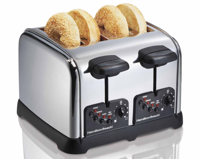 Classic Chrome 4 Slice Toaster (24790)