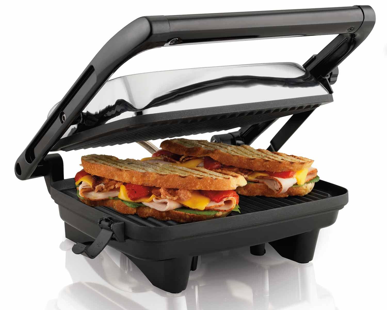 Panini Grill Gourmet Sandwich Maker (25460)