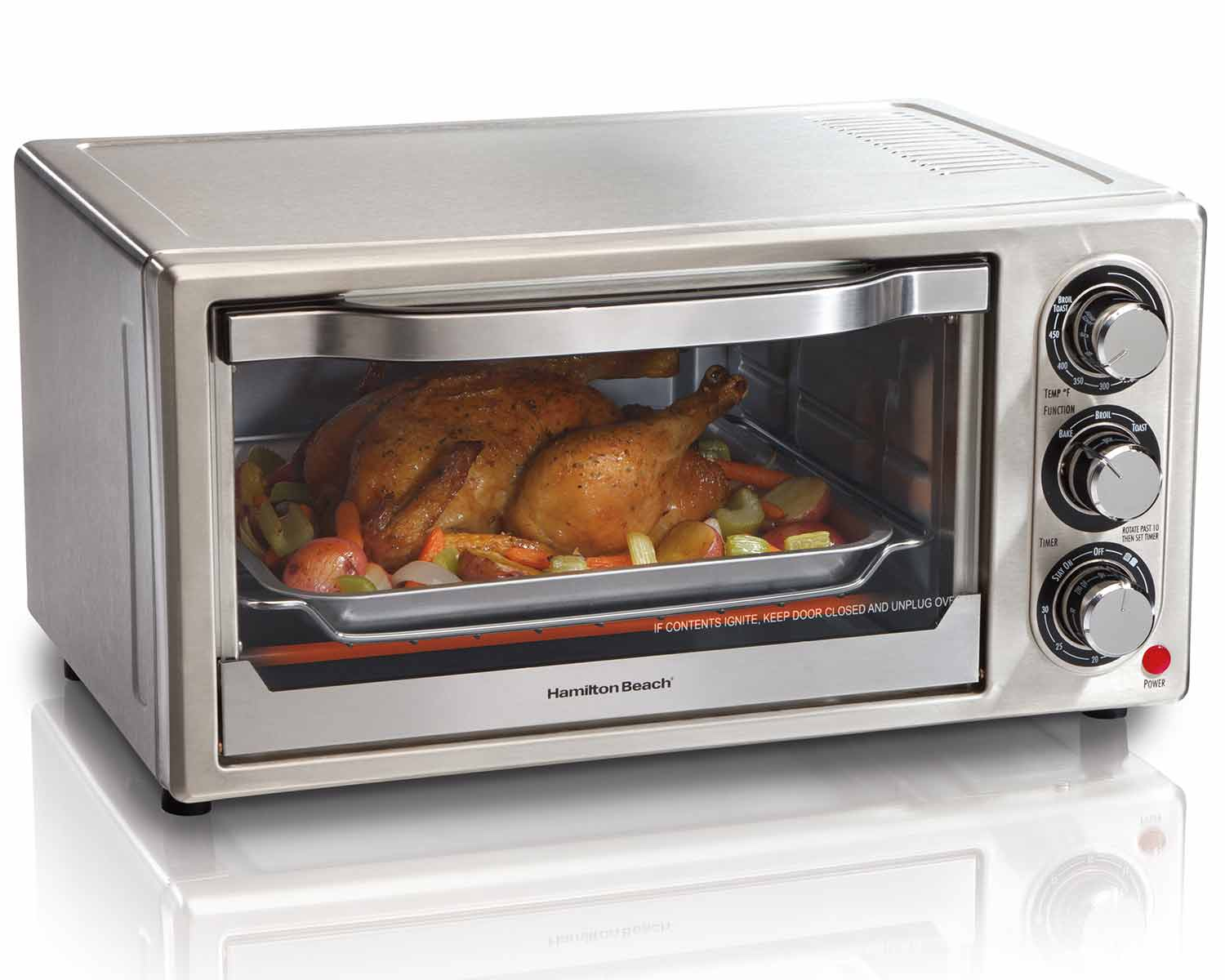 Stainless Steel 6 Slice Toaster Oven (31511C)