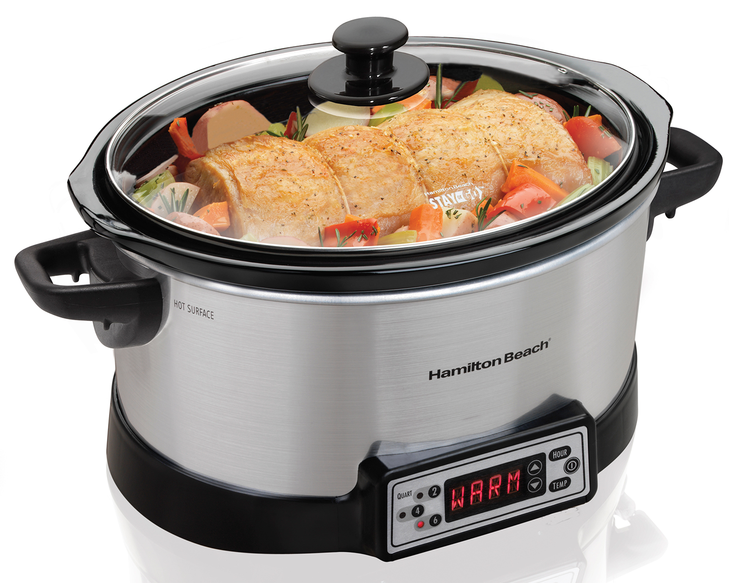 Programmable Right Size™ Multi Quart Slow Cooker (33642C)