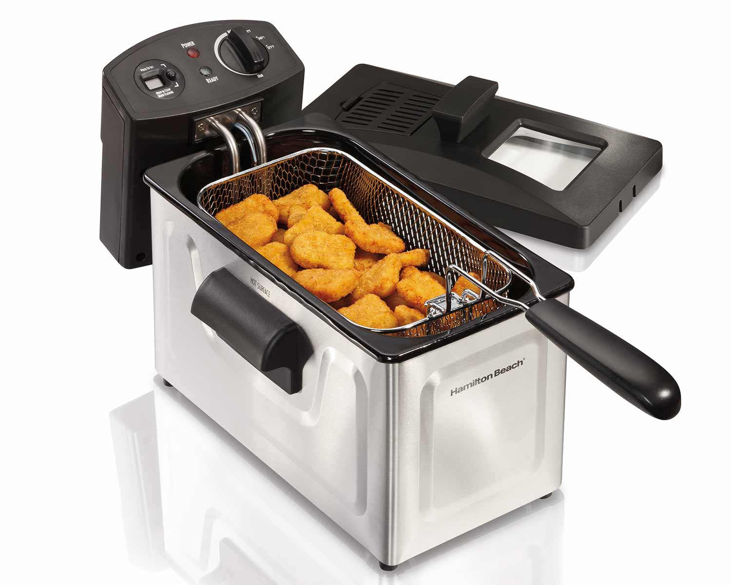 12 Cup Oil Capacity Deep Fryer (35033C)