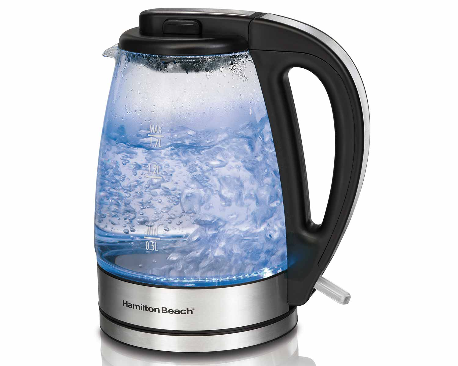 1.7 Litre Glass Kettle (40865C)