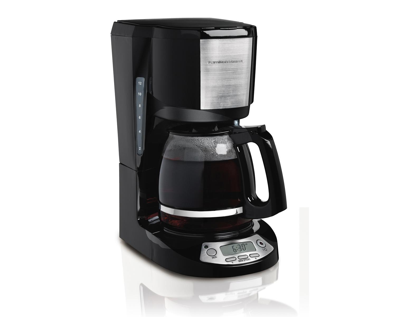 12 Cup Coffeemaker with Digital Clock (49611)