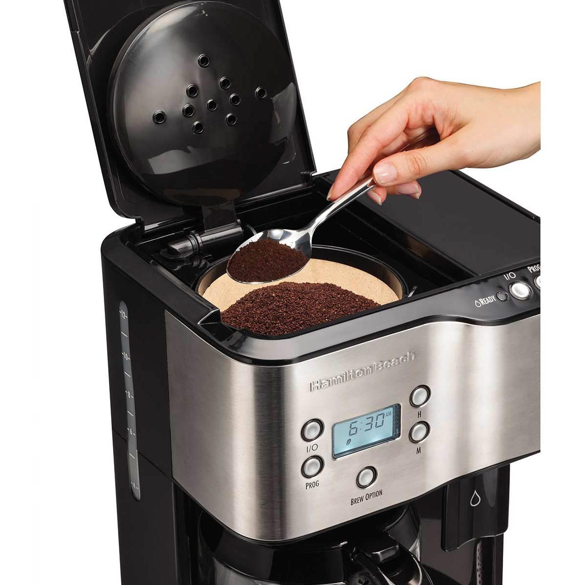 Hamilton Beach Coffee Maker & Hot Water Dispenser - 49982