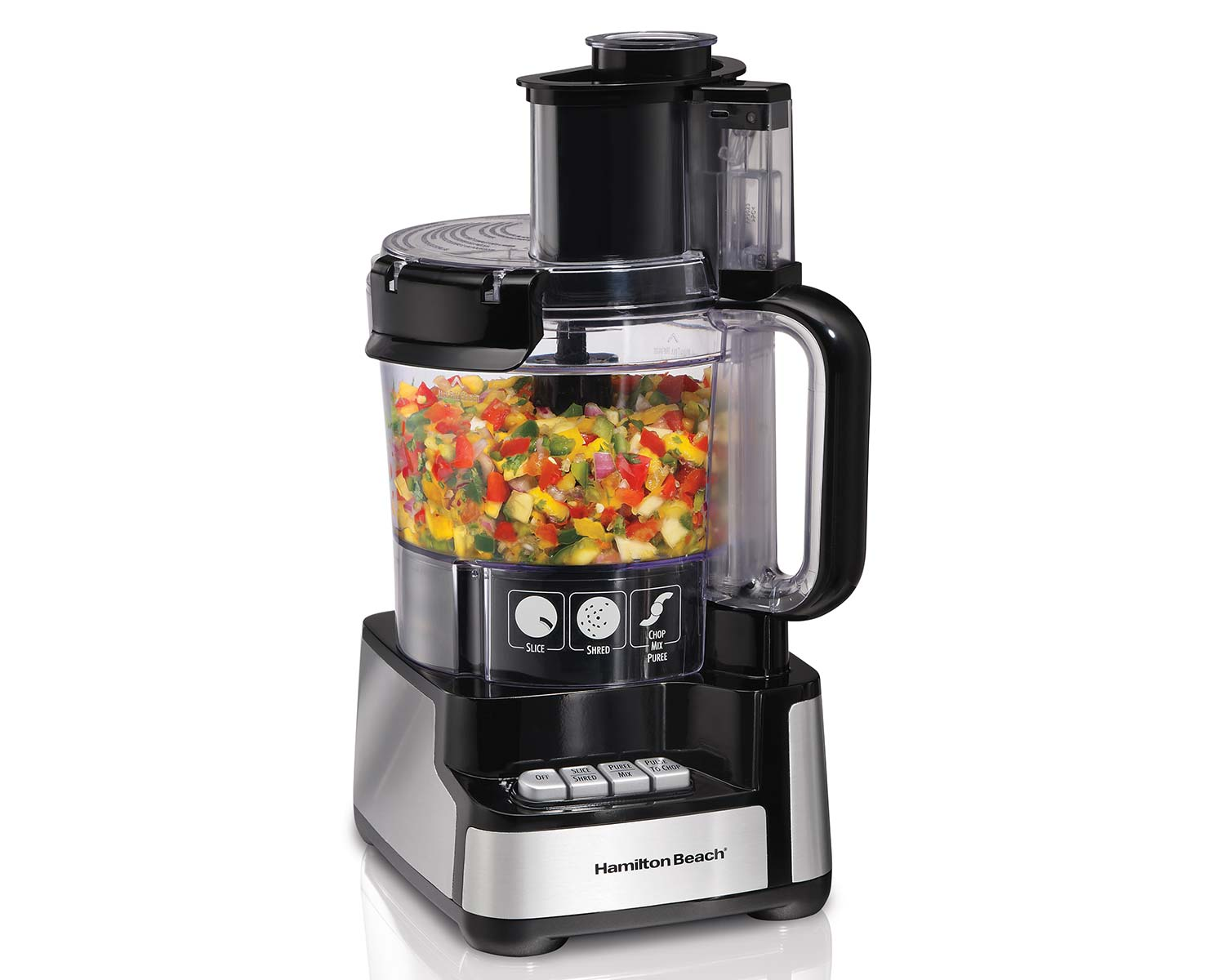 Stack & Snap™ 12 Cup Food Processor (70725C)